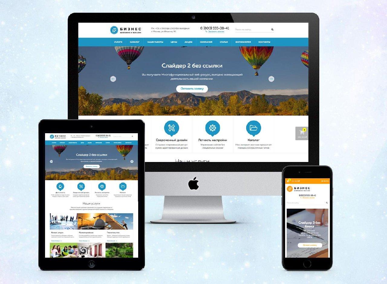 Сайт компании с интернет магазином оценить бюджет продвижения сайта